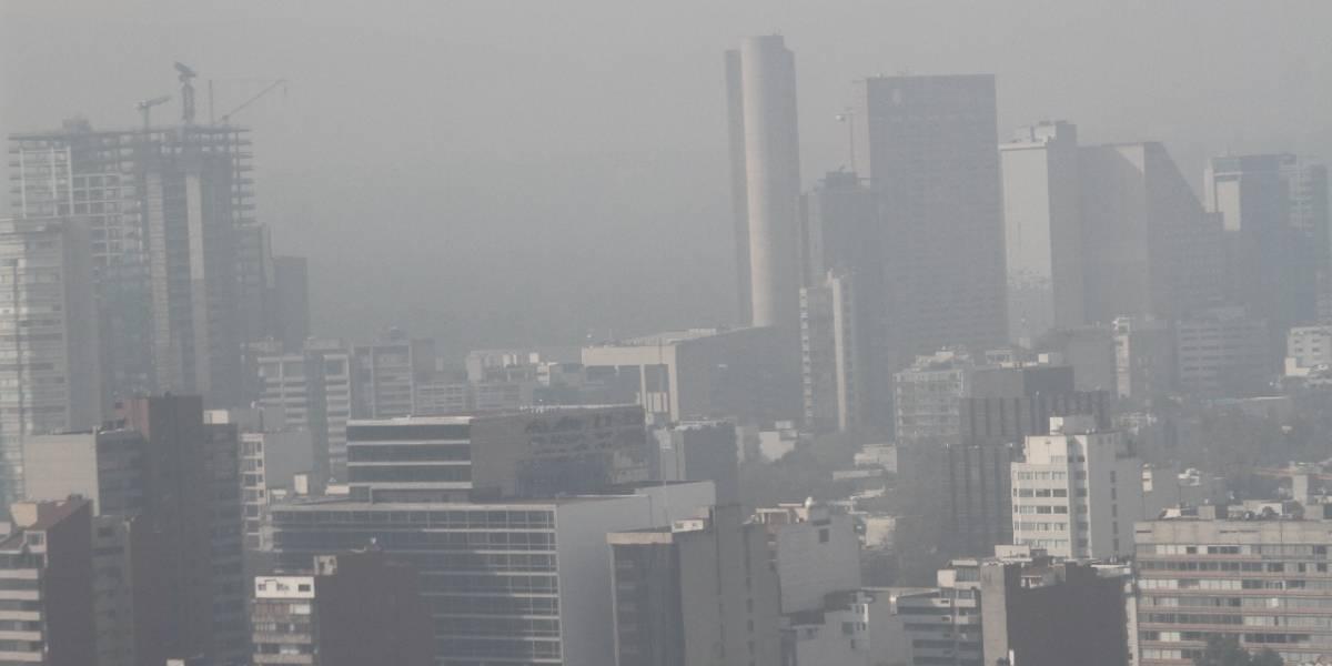 Persiste mala calidad del aire en el Valle de México