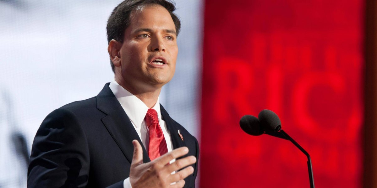 Marco Rubio se opone a reforma fiscal en el Congreso