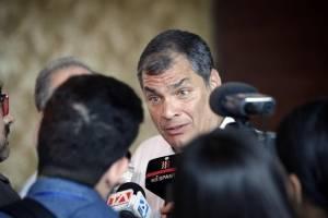 Rafael Correa responde a comentario de Lenín Moreno sobre corrupción