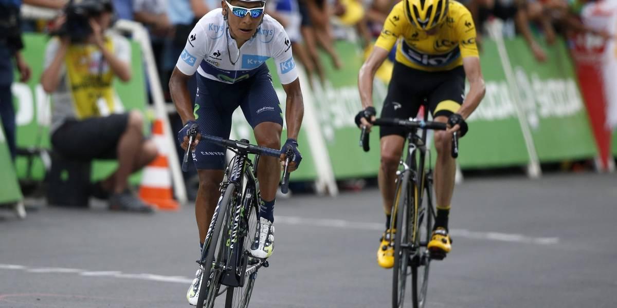 Nairo Quintana exigió una respuesta contundente al dopaje de Chris Froome.