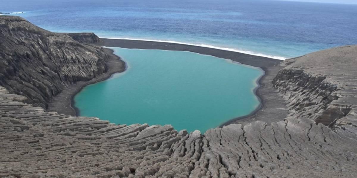 """A ilha """"bebê"""" do Pacífico que pode ajudar a encontrar vida em Marte"""