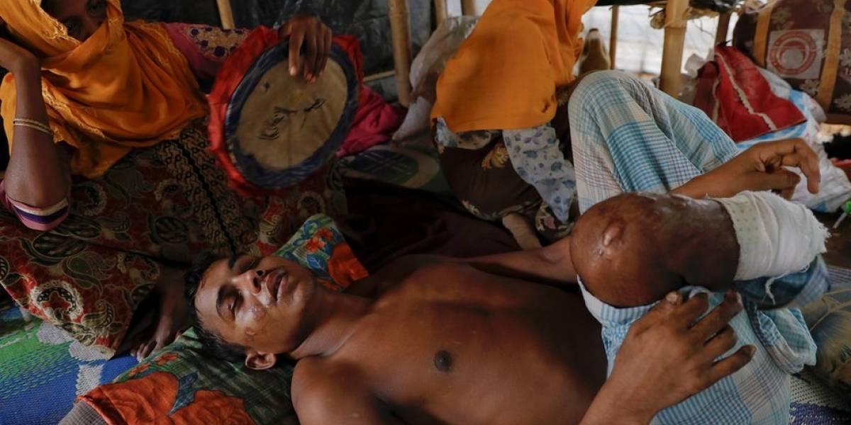 Casi 7000 rohingyas muertos en un mes en Birmania