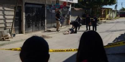 Mujer asesinada en El Mezquital