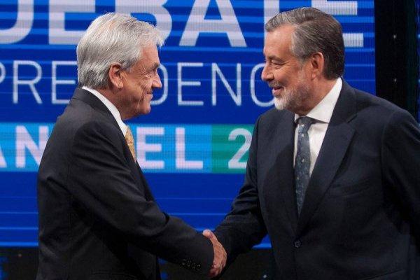 Piñera y Guillier van por la Presidencia / imagen: Aton Chile