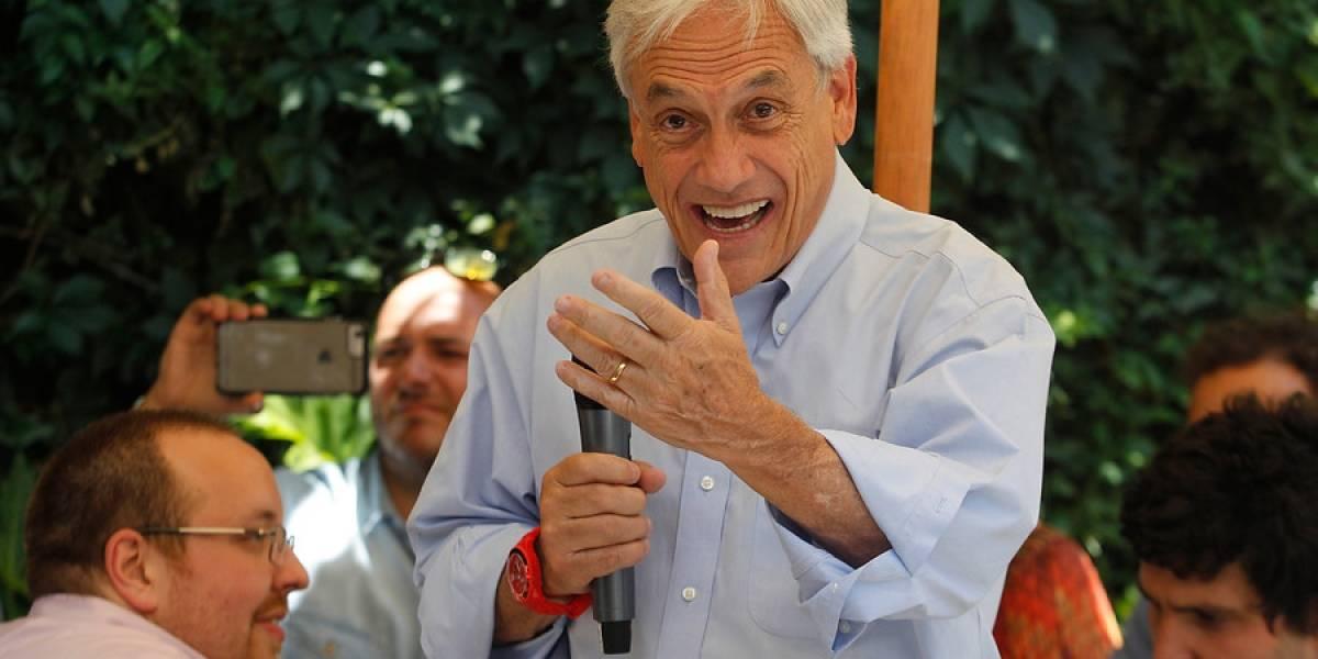 [VIDEO] Ante llegada de Pepe Mujica: Piñera consigue apoyo de Mauricio Macri