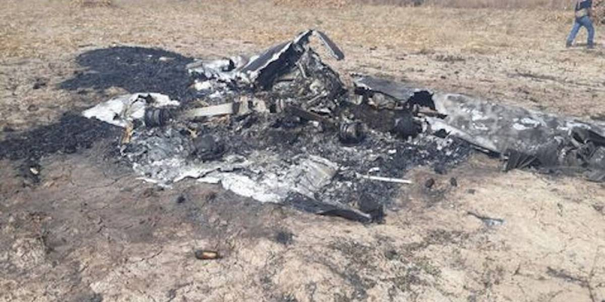 Encuentran avioneta reportada como desaparecida en Iguala