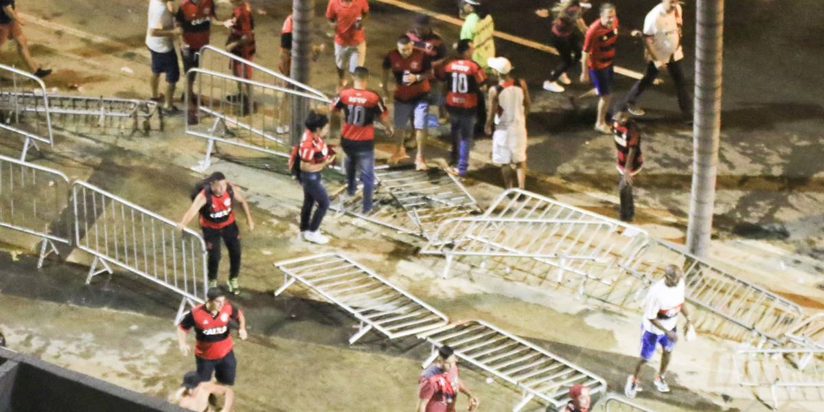 Polícia Militar confirma prisão de 16 pessoas durante tumultos no Maracanã