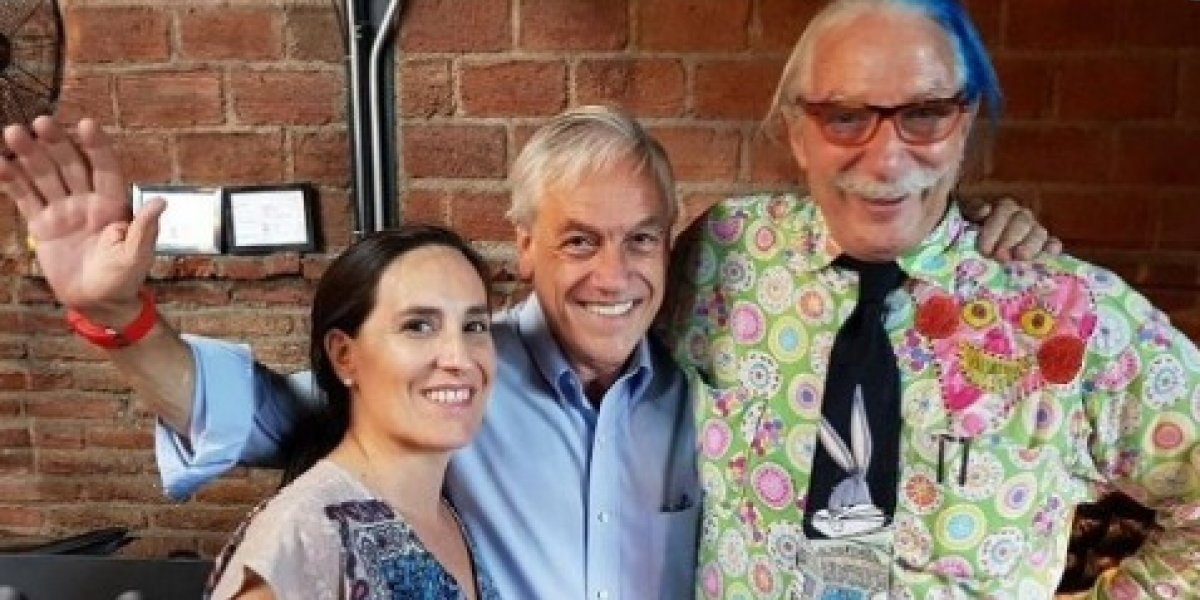 """""""Vuelta de carnero"""": Patch Adams desmiente apoyo a la candidatura de Sebastián Piñera"""
