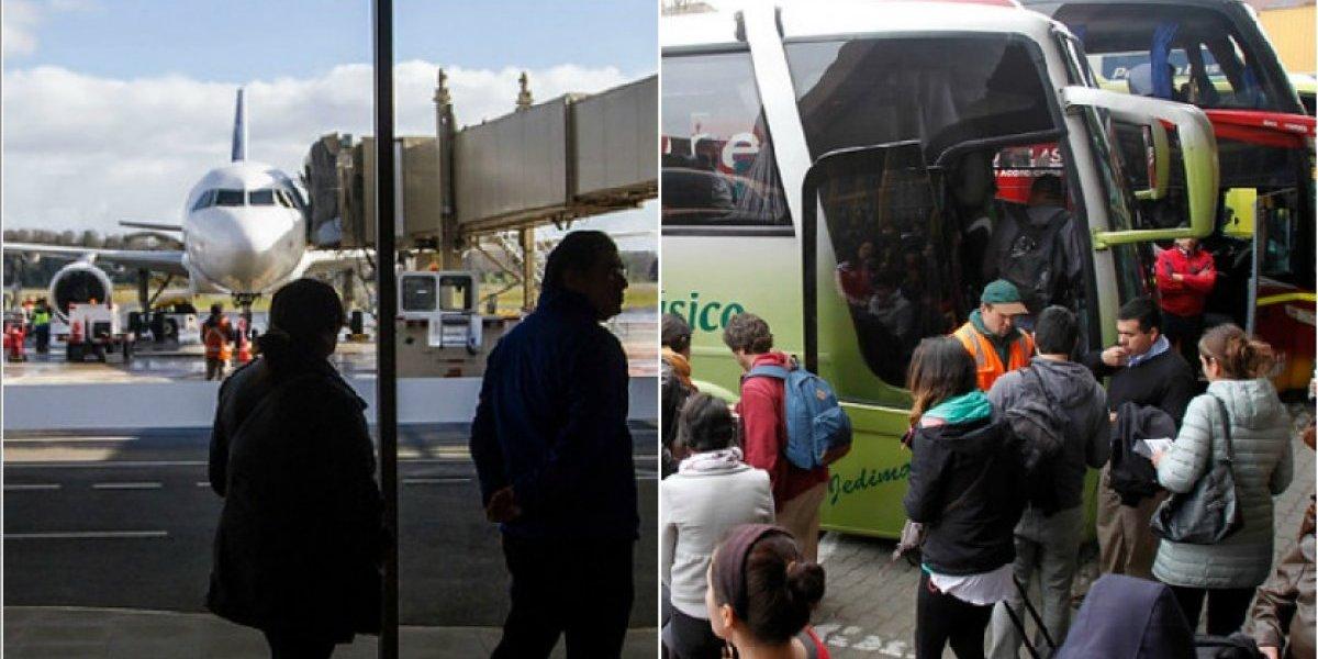 ¿Qué conviene más? Así están los pasajes de bus y avión para viajar en las vacaciones