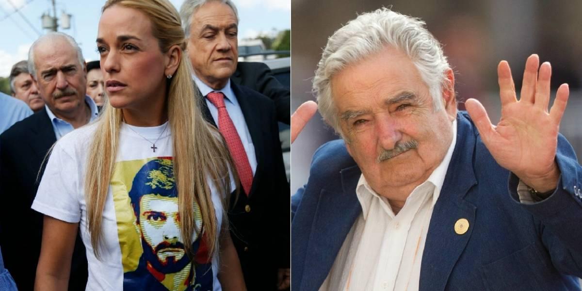 Pepe Mujica vs Lilian Tintori: Piñera reflota antiguo video de apoyo desde Venezuela y desata round tuitero