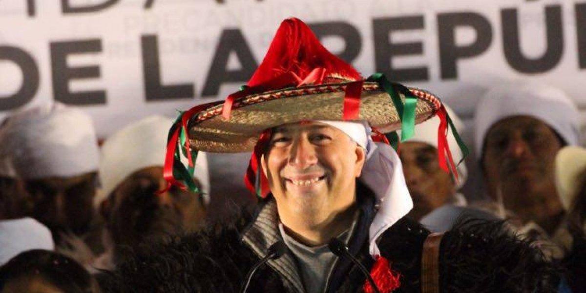 Meade inicia su precampaña en San Juan Chamula, Chiapas