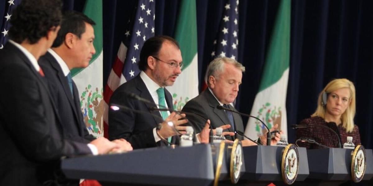 Videgaray y Tillerson dialogan en Washington sobre estrategia contra el narco