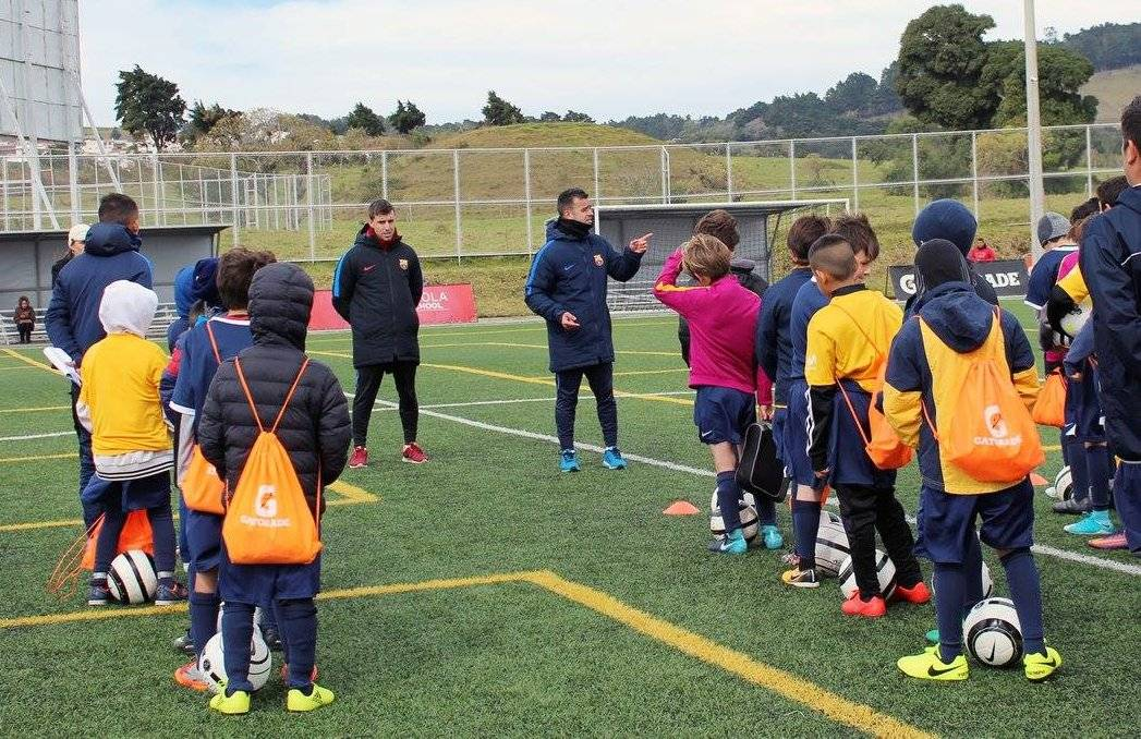 Fotos: FCB Escola Guatemala