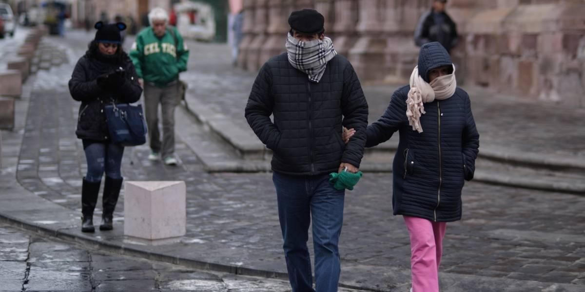 Ingresará nuevo frente frío; continuarán bajas temperaturas