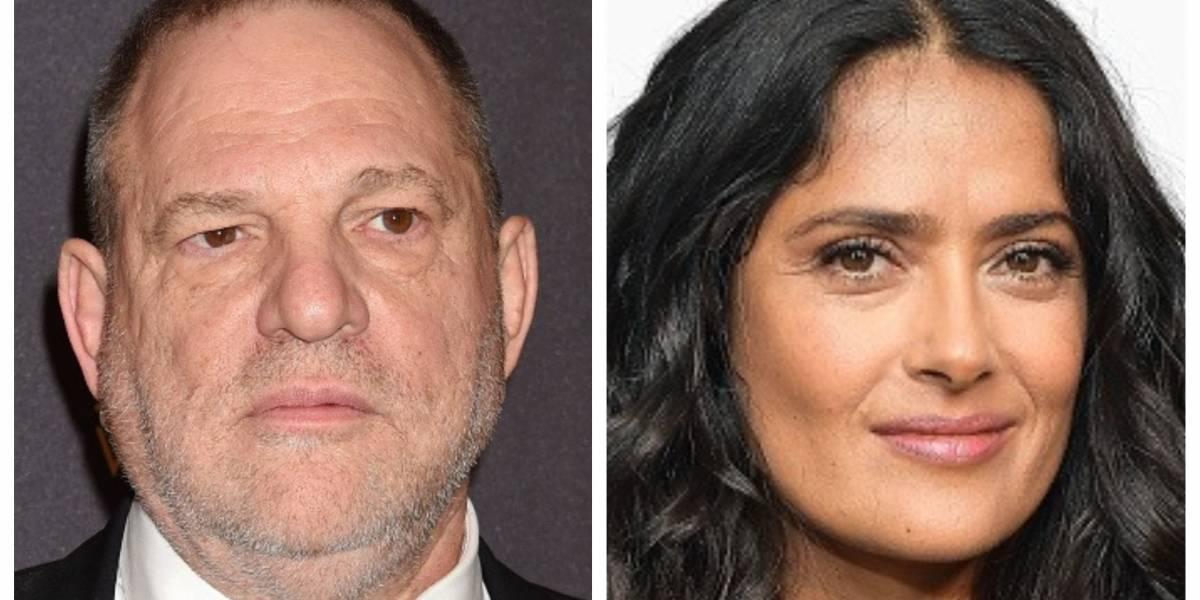 Harvey Weinstein niega haber obligado a Salma Hayek a hacer un desnudo total