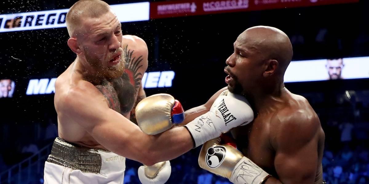 Mayweather analiza pelear con McGregor en el octágono