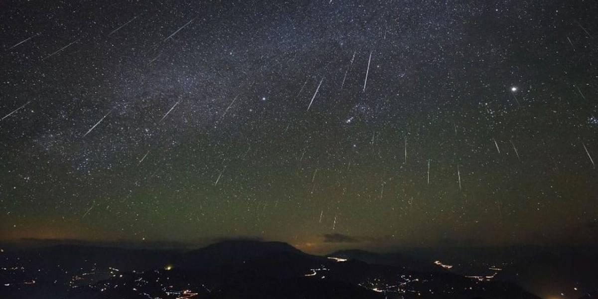 Chuva de meteoros é destaque no Twitter