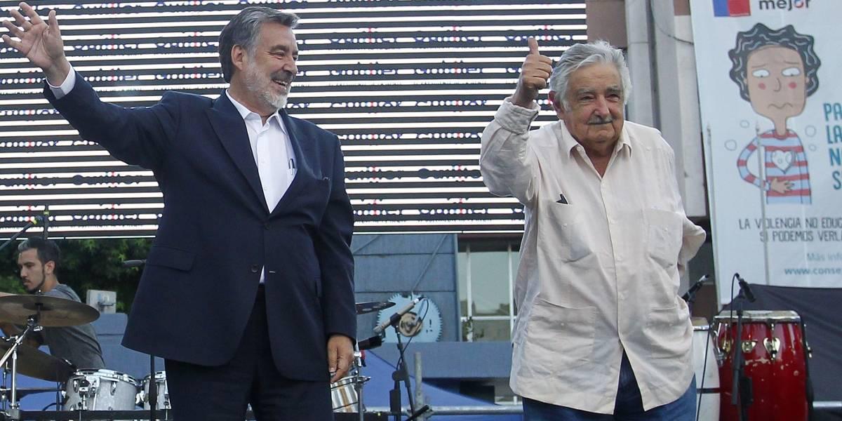 Más de 20 mil menciones en sólo 3 horas: Participación de Pepe Mujica en cierre de campaña de Guillier revolucionó las redes sociales
