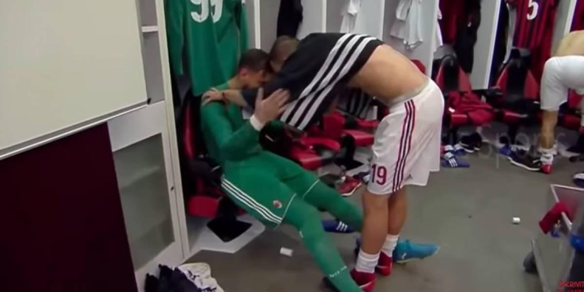 VIDEO: Afición hizo llorar a portero del Milan con insultos