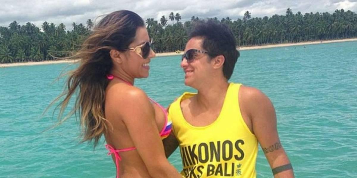 Thammy Miranda festeja 4 anos de namoro com Andressa Ferreira