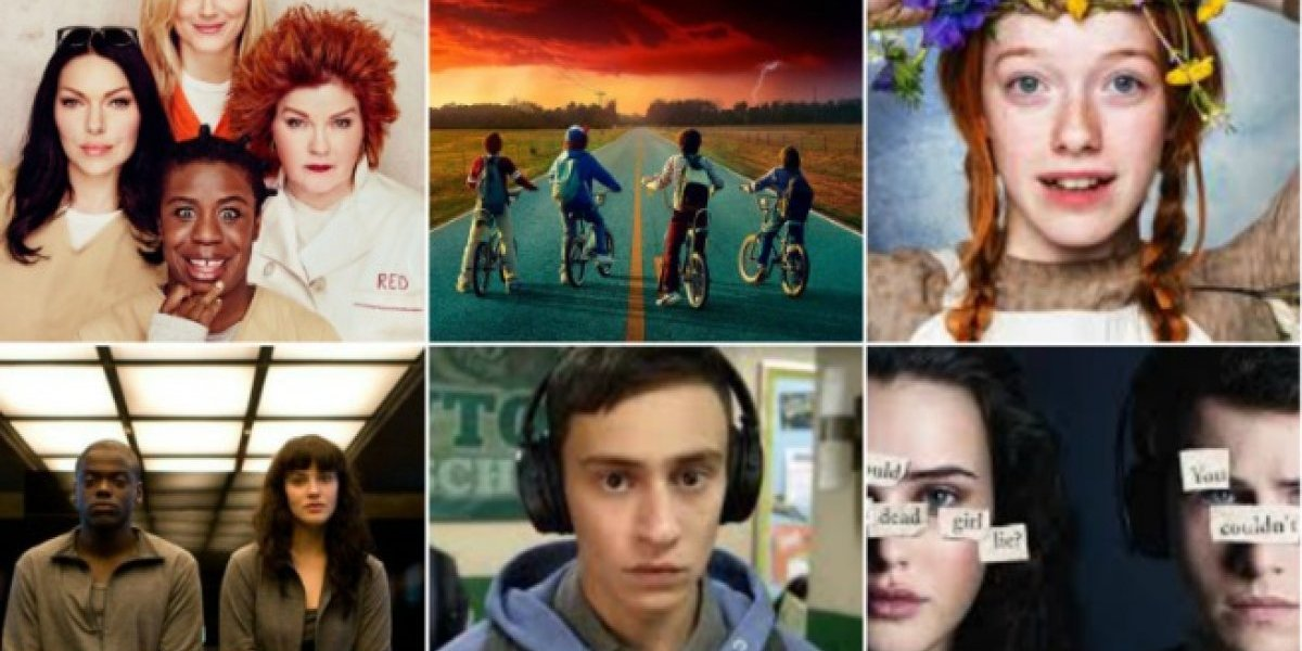 As séries mais vistas na Netflix em 2017