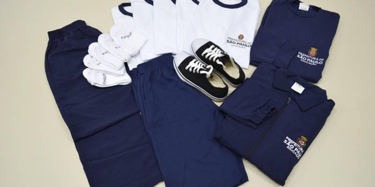 Doria garante que uniformes das escolas municipais não terão patrocínio: 'Eu vou vetar!'