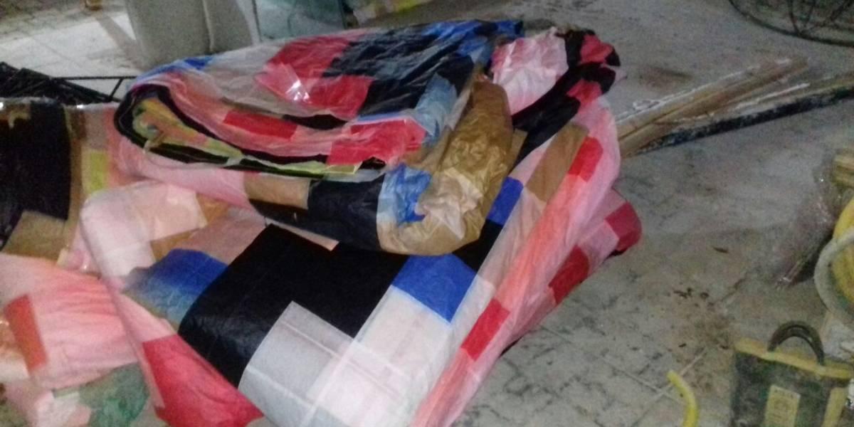 Funcionário da Infraero é preso por fabricar balões em casa