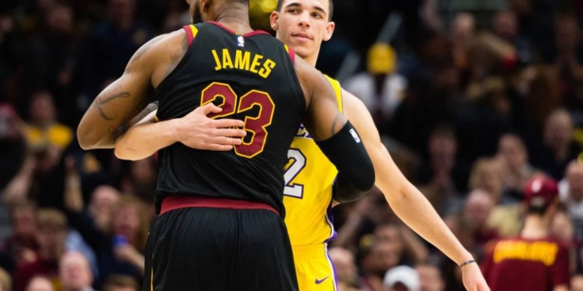 NBA: LeBron James igualó histórico récord en soberbio triunfo de Cleveland
