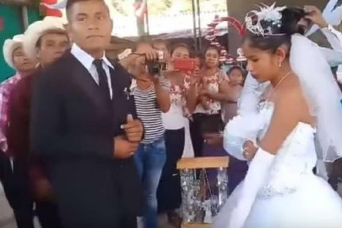 Así fue la boda más triste del mundo