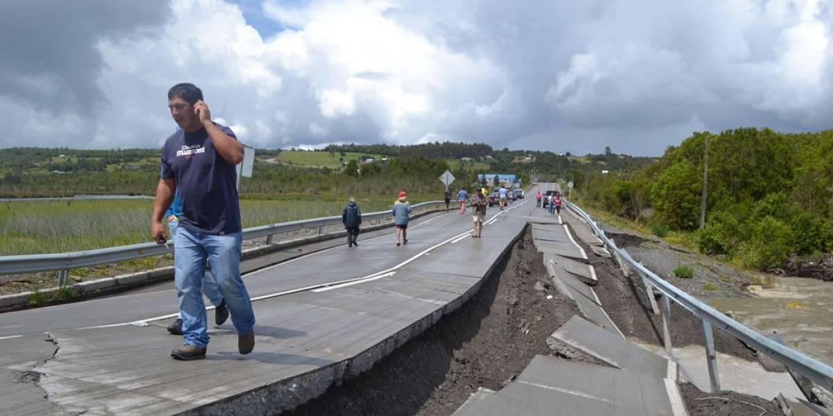 Apenas se demoró 56 años en llegar: sismo de 7,6 de Chiloé del 2016 es réplica del megaterremoto de Valdivia