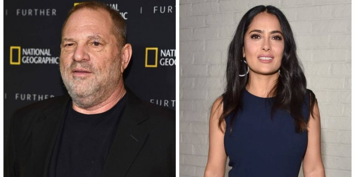 Harvey Weinstein rebate acusações de Salma Hayek sobre assédio sexual
