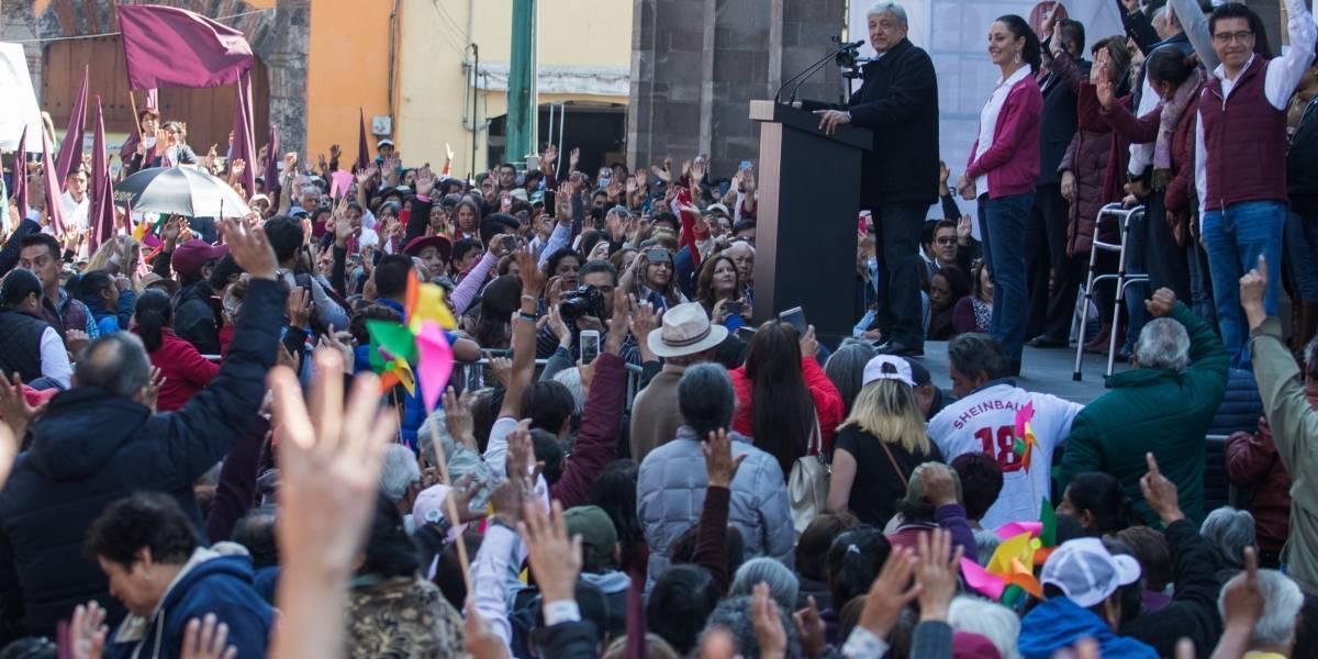 Formalizan alianza Morena, PES y PT ante el INE