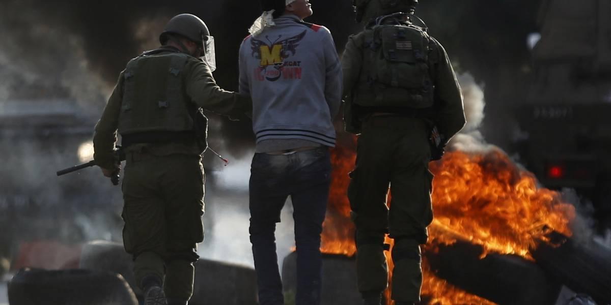 Mueren cuatro palestinos en enfrentamiento con militares israelís