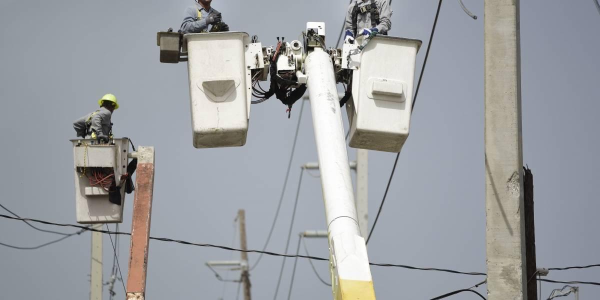 AEE presenta avances de la reparación del sistema eléctrico