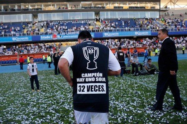 Esteban Paredes se proclamó cinco veces como máximo goleador / imagen: Agencia UNO