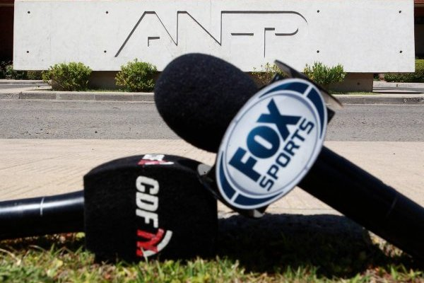 Fox se cayó de la pelea / imagen: Agencia UNO