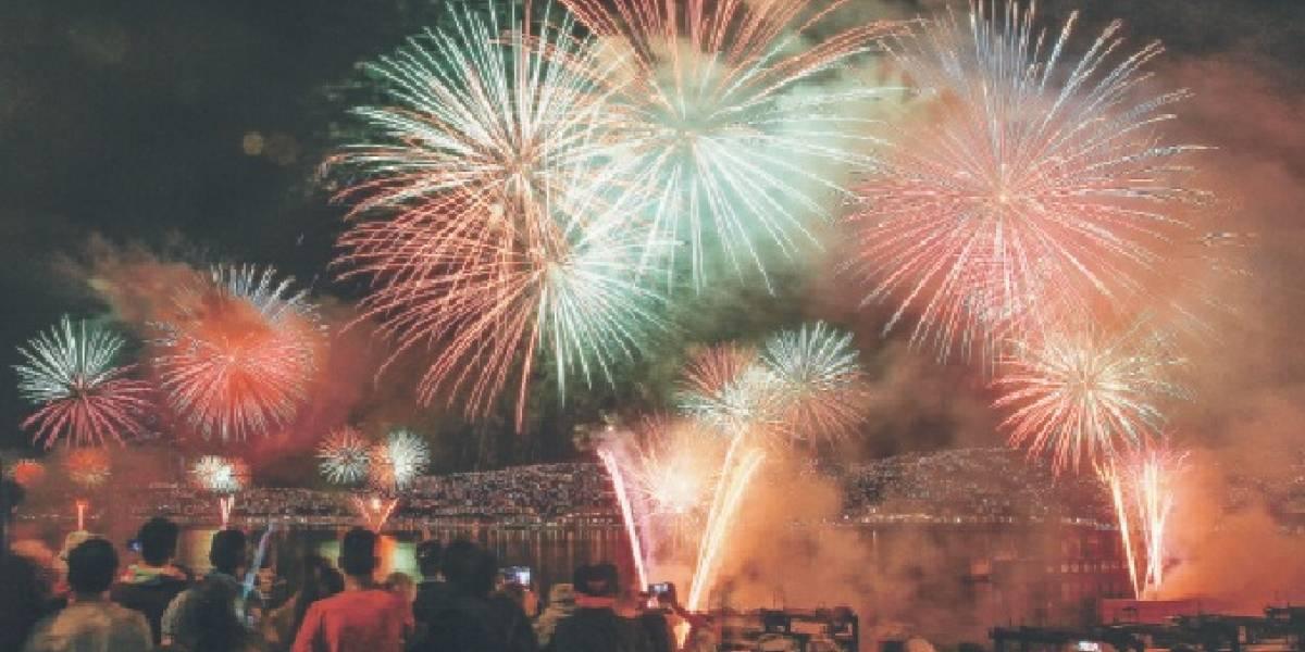 ¿Dónde quieren pasar Año Nuevo los chilenos? Río y Viña son los favoritos
