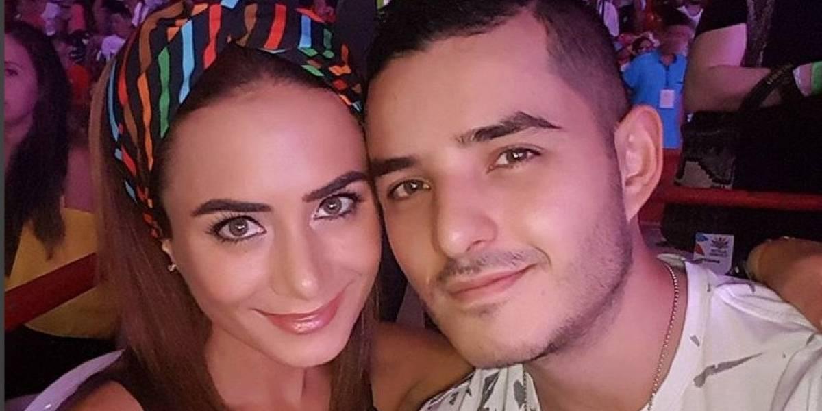 En video: Johanna Fadul le hace show de celos a su esposo