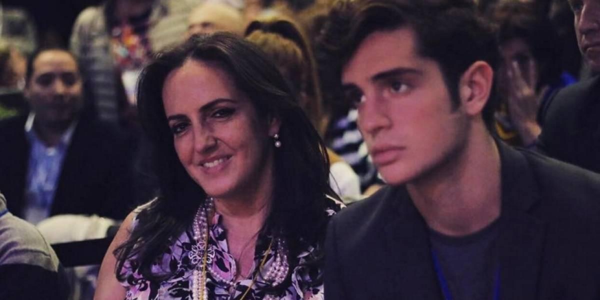 El guapísimo hijo de María Fernanda Cabal que infarta en redes
