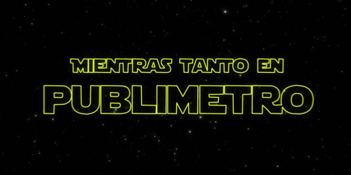 ¡La fiebre de Star Wars llegó a Publimetro!: Con muchos droides