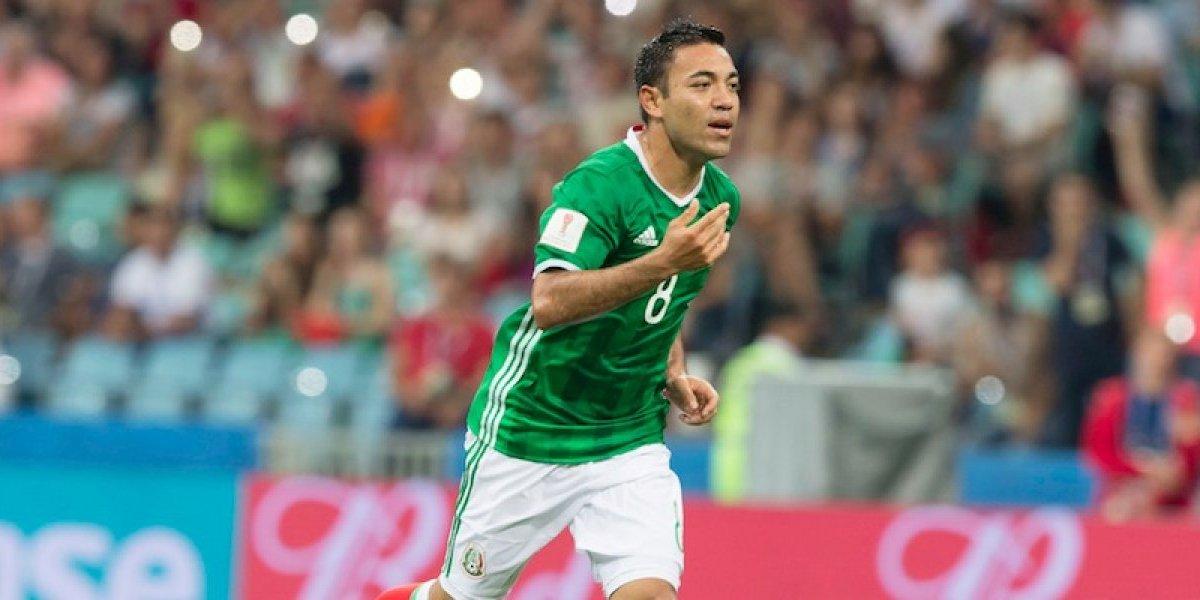 Marco Fabián jugó con fuerte dolor en Copa Confederaciones