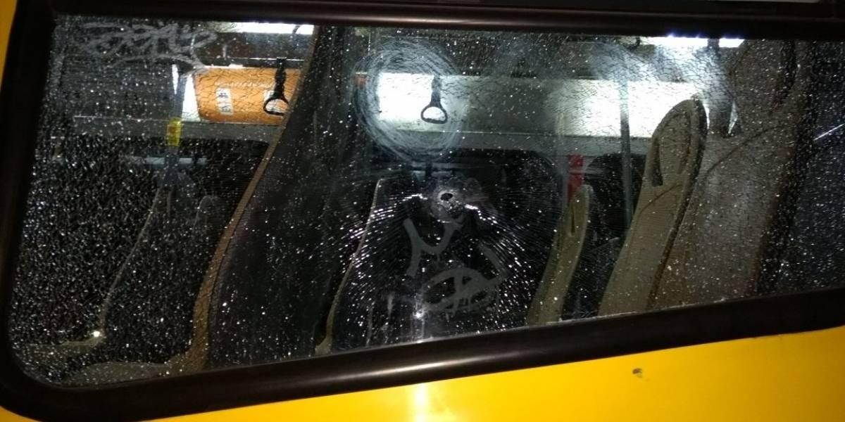 Muere niño de 8 años tras ser baleado en bus del Transantiago