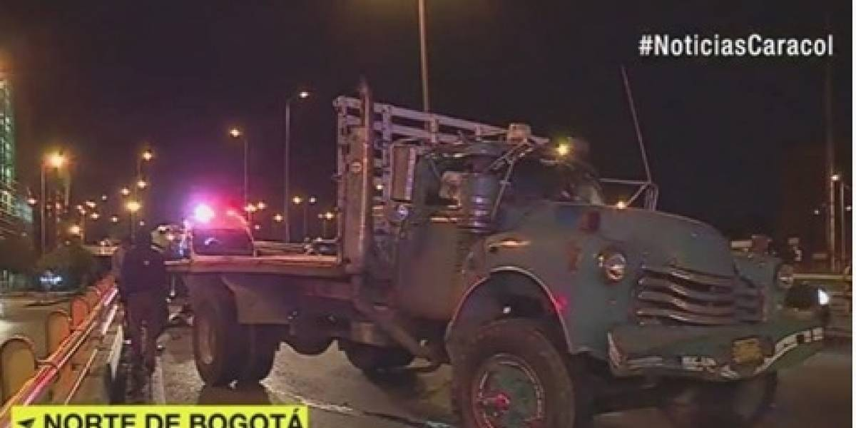 Muere niño en fatal accidente de transito en el norte de Bogotá