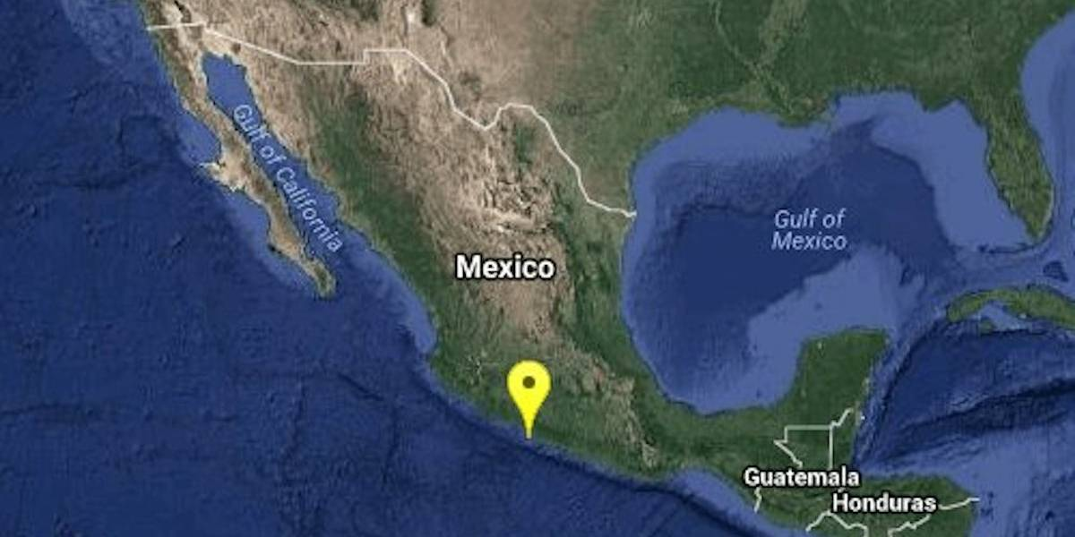 Se registra sismo en Guerrero; fue percibido en la Ciudad de México
