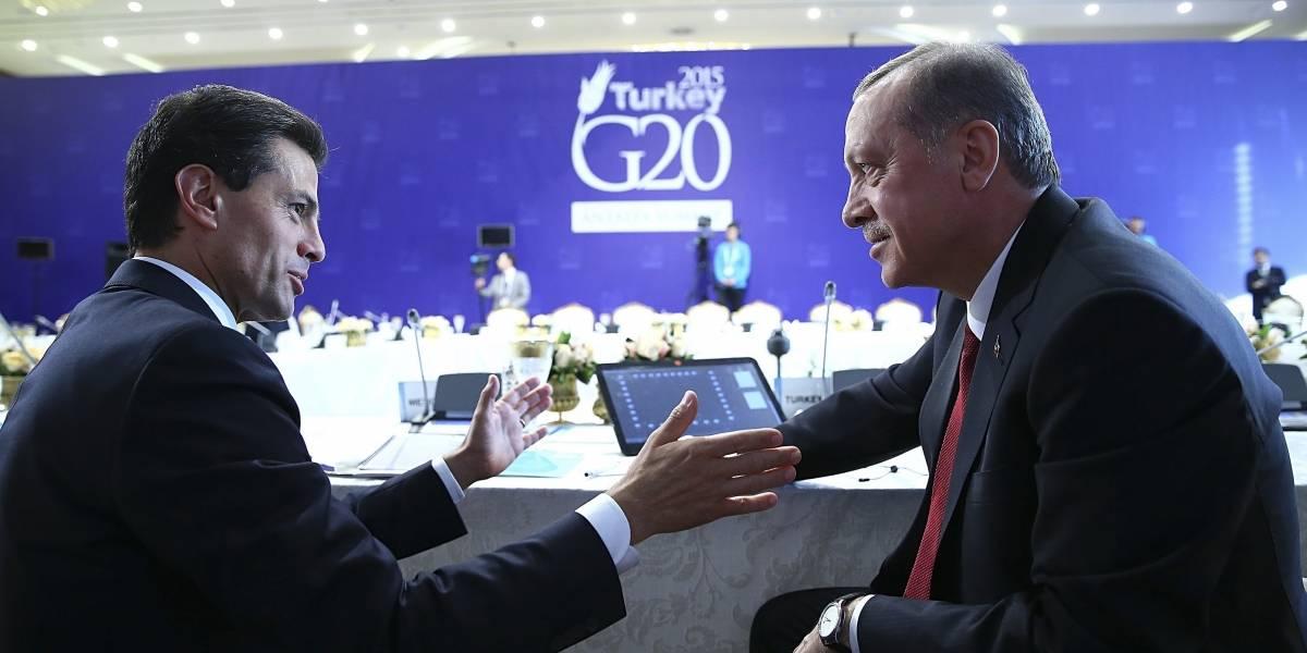 Peña Nieto promulga decreto de acuerdo entre México y Turquía sobre inversiones