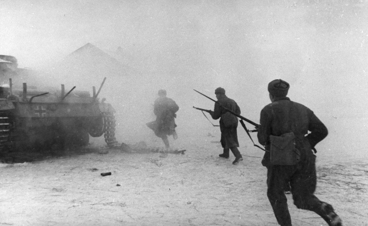 Rusos en Stalingrado