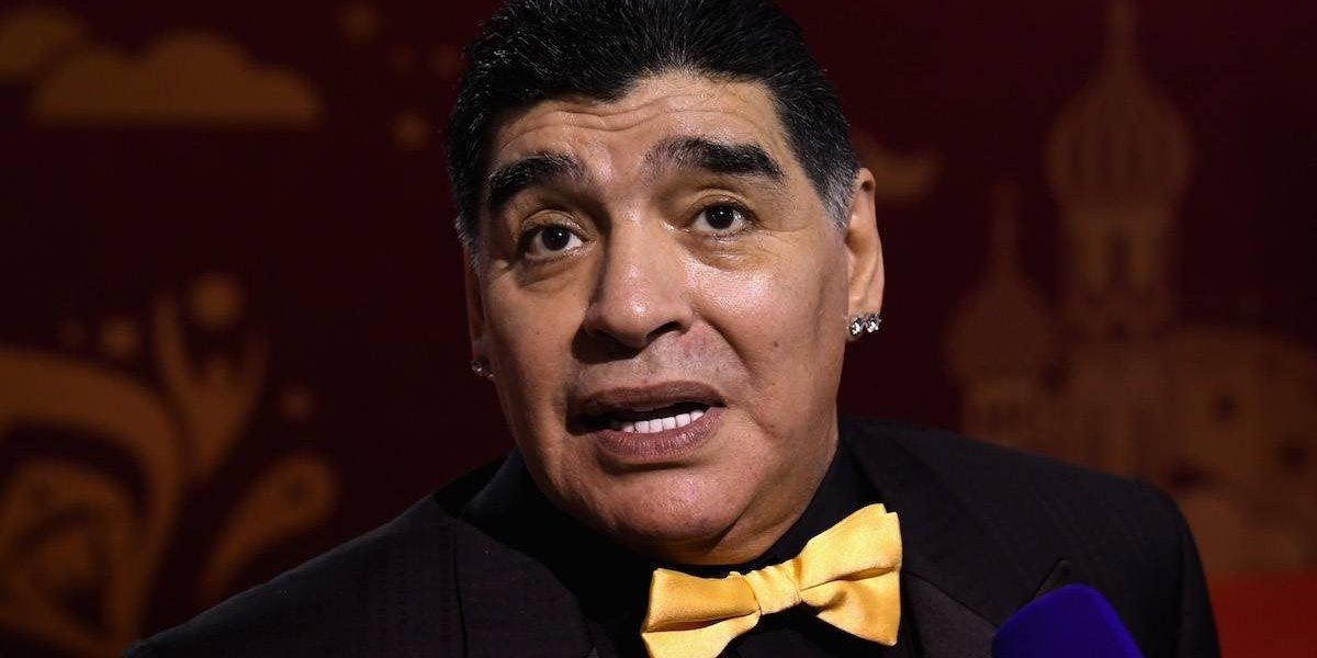 EU niega visa a Maradona tras insultar a Donald Trump