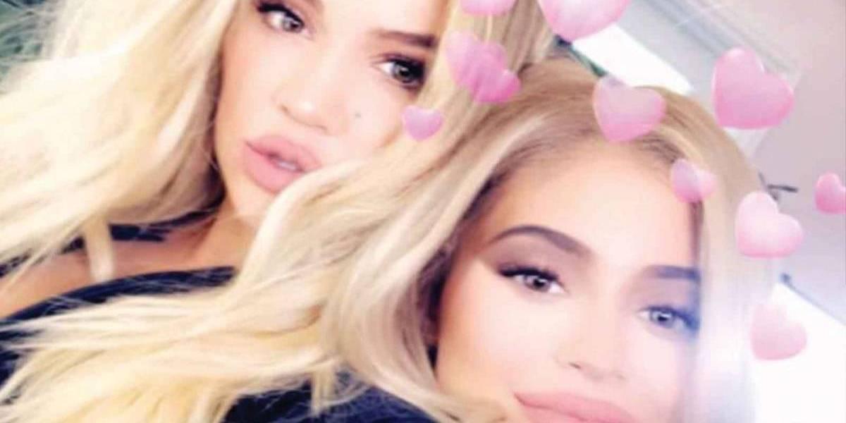 Así es como han tratado de ocultar sus embarazos Khloé Kardashian y Kylie Jenner