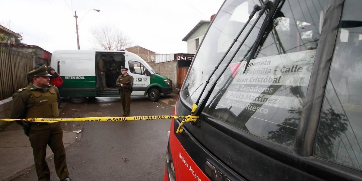 Murió niño de 8 años que recibió una bala loca al interior del Transantiago