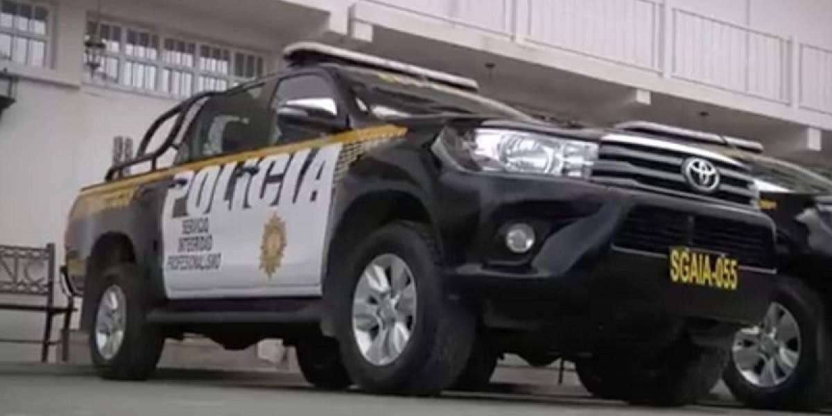 Entregan nuevas autopatrullas a diferentes divisiones de la PNC